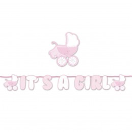 Banner carucior It's a Girl 6m