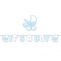 Banner carucior It's a Boy 6m