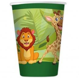 Set 8 pahare Jungle Party...