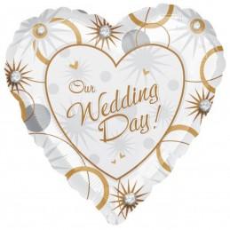Balon inima Our wedding day...