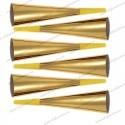 Set 6 Trompete Aniversare Aurii