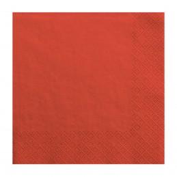 Set 20 servetele rosii, 3...