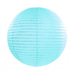 Lampion rotund bleu 25 cm