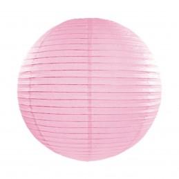 Lampion rotund roz 25 cm