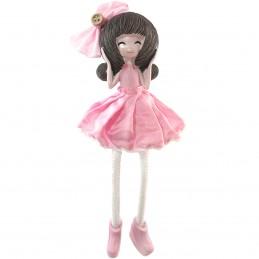 Fetita cu rochita roz,...