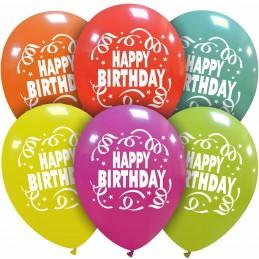 Set 10 baloane Happy Birthday
