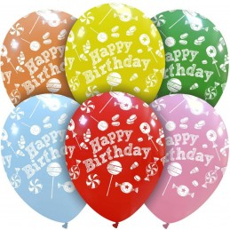 Set 10 baloane Sweet Happy...