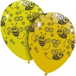 Set 10 baloane galbene cu...