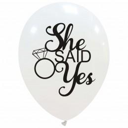 Set 10 baloane albe She...