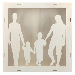 Caseta blank family, tablou...