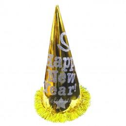 "Coif  Auriu pentru Revelion ""HAPPY NEW YEAR"""