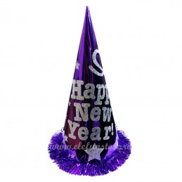 "Coif  Violet pentru Revelion ""HAPPY NEW YEAR"""