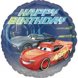 Balon Rotund Cars Happy...