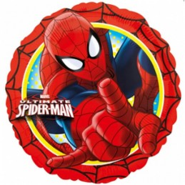 Balon Rotund Spiderman...