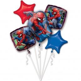 Buchet 5 Baloane Spiderman...