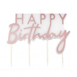 Lumanare Happy Birthday...