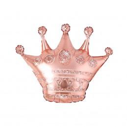 Mini Balon Coroana Rose Gold