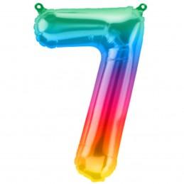 Balon Cifra 7 Jelly Rainbow...