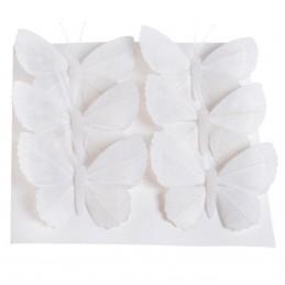 Set 6 Fluturasi albi cu...