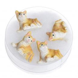 Set 4 pisicute 3D din...