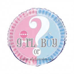 "Balon ""BOY or GIRL"""