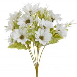 Buchet crizanteme albe 6...
