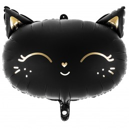 Balon pisicuta neagra 48 cm