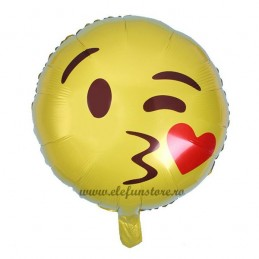 Balon Emoticon Love 45cm