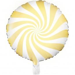 Balon acadea galben pastel