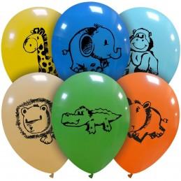 Set 10 baloane multicolore...