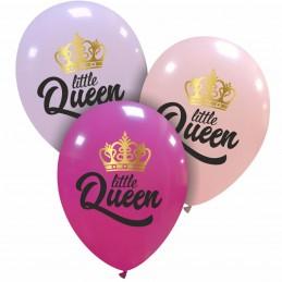 Set 10 baloane Little Queen...