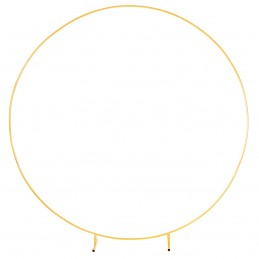 Arcada cerc auriu din metal...