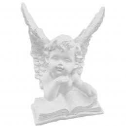 Ornament ingeras pe carte 8 cm