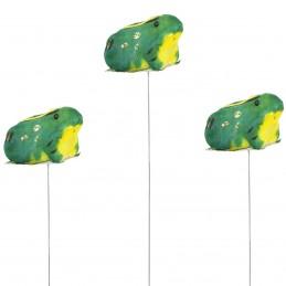 Set 3 broscute pe bat 22cm