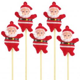 Set 5 ornamente mos craciun...