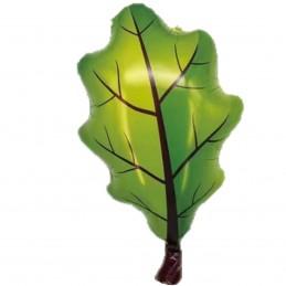 Balon frunza de stejar...