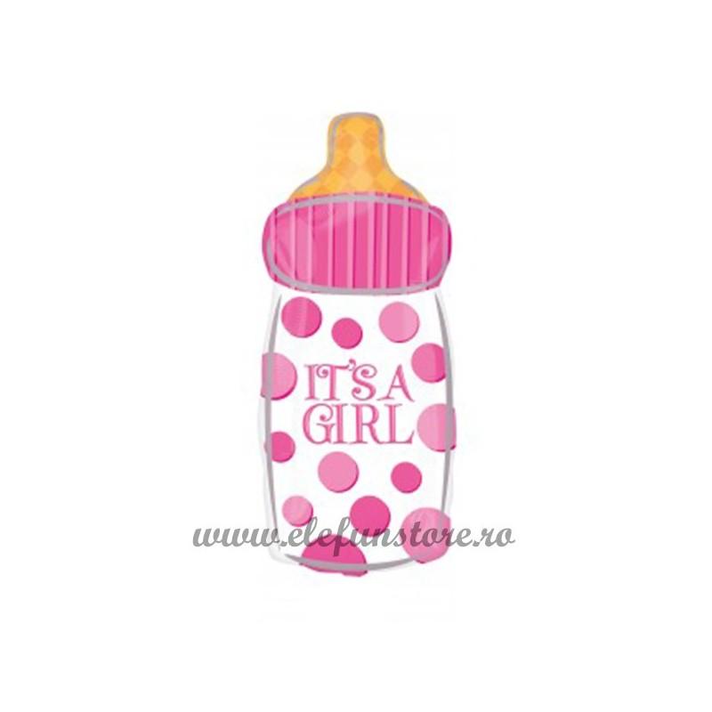 """Balon Biberon """"It's a girl"""""""