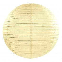 Lampion rotund crem 25 cm