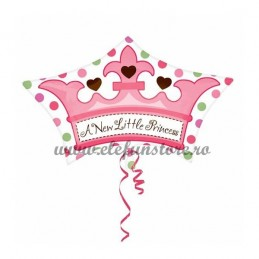 "Balon  Coroana ""A New Little Princess"""