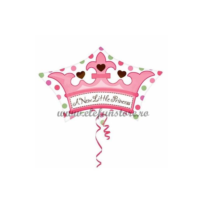 "Balon  Coroana ""A New Little Princess"""