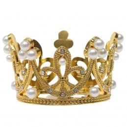 Coroana aurie cu perle pt...