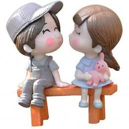 Set 2 miniaturi cuplu pe...