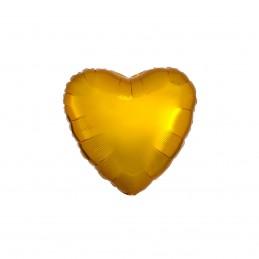 Set 10 Baloane Inima Aurie...