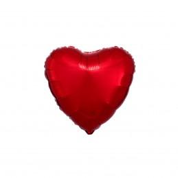 Set 10 Baloane Inima Rosie...