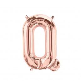 Balon Litera Q Rose Gold 40cm