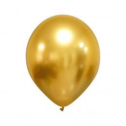 Set 100 Baloane Chrome Gold...
