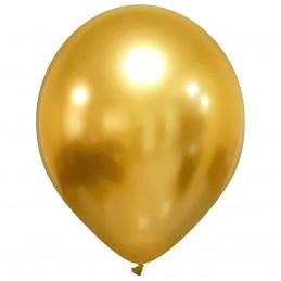 Set 10 Baloane Chrome Gold...
