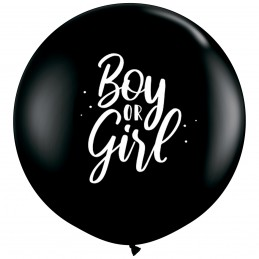 Balon Jumbo negru Girl or...