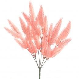 Buchet 6 fire bradut roz 35 cm