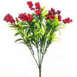 Buchet 5 fire Cranberry 30 cm